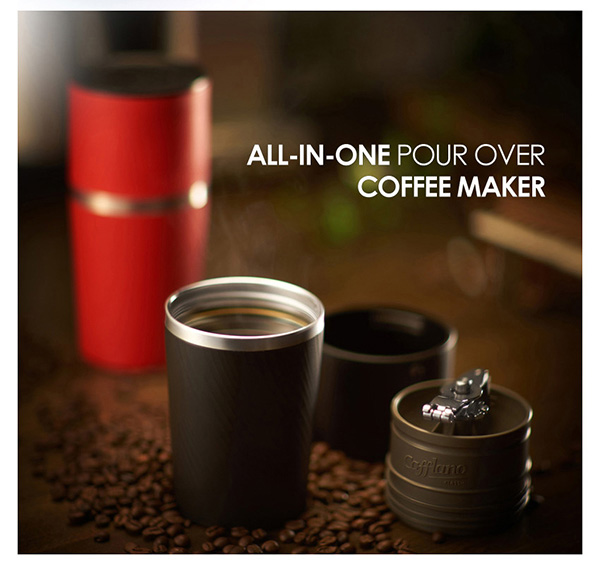 Outdoor Drip Coffee Maker : Outdoor Travel Camping All-in-one Handmill Drip Coffee Maker Mug Cup Tumbler eBay