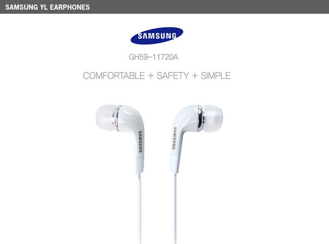 genuine samsung earphone earset headset with microphone galaxy s series tab note 8806071442532