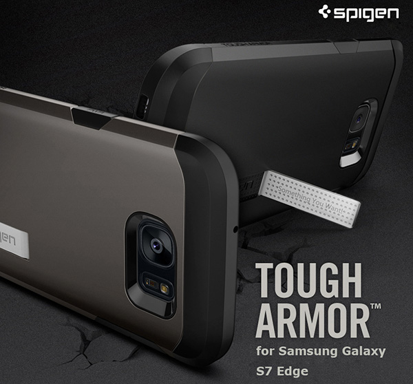 on sale 44e6b e997f Details about Spigen Tough Armor Cell Mobile Phone Case Cover Skin for  Samsung Galaxy S7 Edge