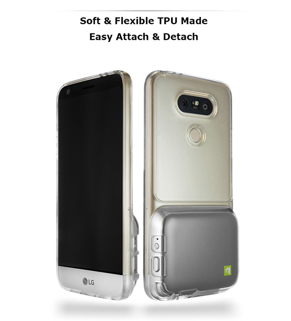 low priced a5ec0 1314c Details about LG G5 Cam Plus Crystal Clear Transparent Protective Mobile  Phone Case Cover