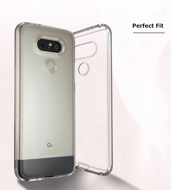brand new 52114 7bb60 Details about LG G5 Hi-Fi Plus Crystal Clear Transparent Protective Mobile  Phone Case Cover
