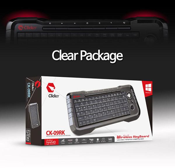 73d2c23dc53 Clicker CK-09RK Mini PC Computer Laptop Gaming USB Wireless ...
