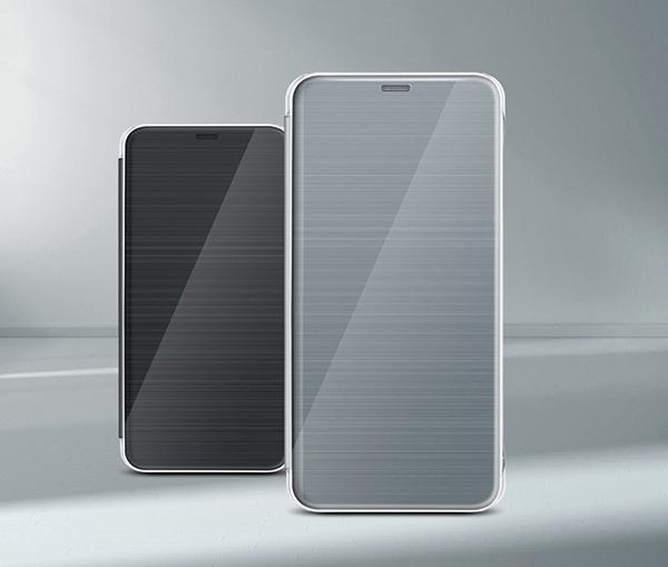 cheap for discount 73e8e fa4e7 Details about Original LG G6 Quick Window View Flip Folio Cover Cell Mobile  Phone Case Skin