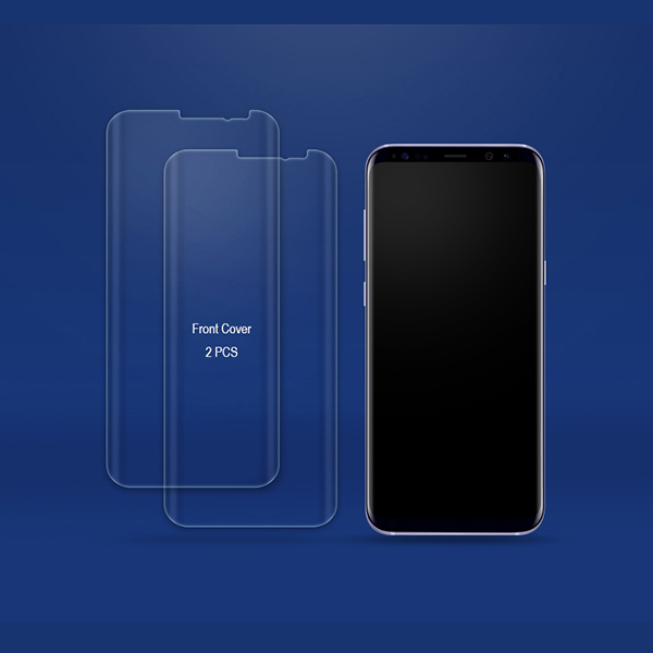 samsung galaxy s8 s8 screen protector protection film. Black Bedroom Furniture Sets. Home Design Ideas