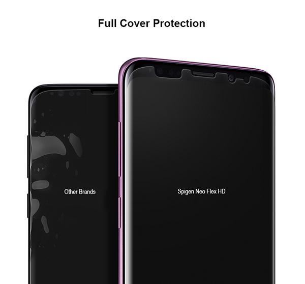 Genuine Spigen NeoFlex Screen Protector Protection Flim Samsung Galaxy S9  S9Plus | eBay