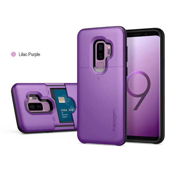 the latest ab05f 2e63c Details about Spigen Slim Armor CS Dual Layered Protection Case Cover  Samsung Galaxy S9 S9Plus