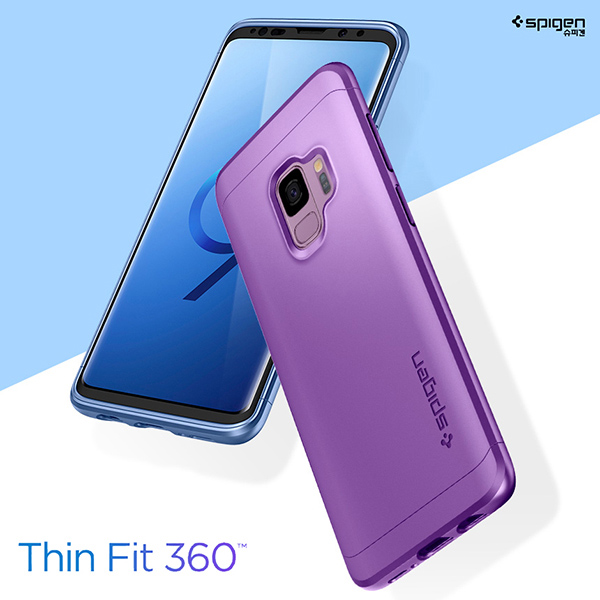 buy online f2f07 802b8 Details about Samsung Galaxy S9 S9Plus 360Degree Full Cover Protection Case  Cover Spigen Korea
